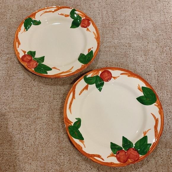 Franciscan Other - Franciscan Apple Set of 2 Dinner Plates
